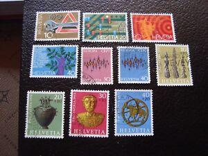 Switzerland-Stamp-Yvert-and-Tellier-N-895-A-904-Obl-A2-Stamp-Switzerland-P