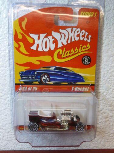 Red T-BUCKET #24-10 SPOKE W//W 2005 HOT WHEELS CLASSICS SERIES 1