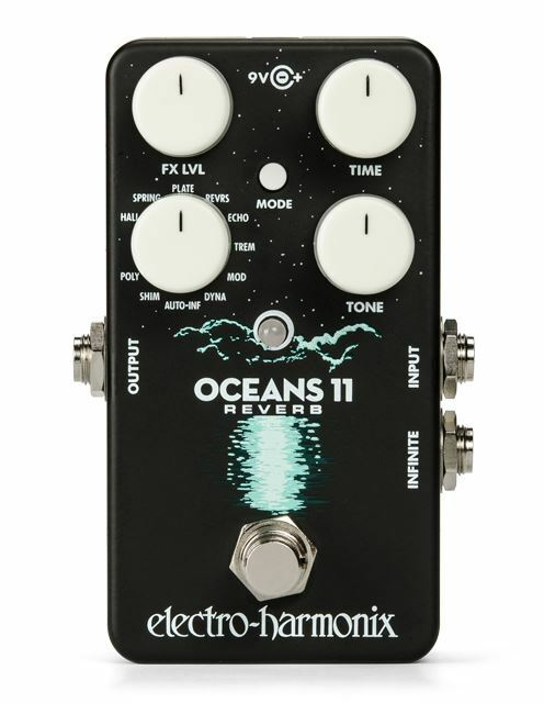 Electro-Harmonix Oceans 11 Hall Pedal