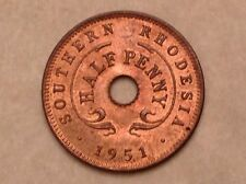 Southern Rhodesia Penny, 1951