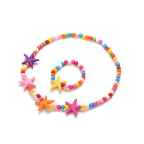Kids Fashion Necklace Bracelet Best Jewelry Gifts for Baby Girls 6 Types JDUK ME
