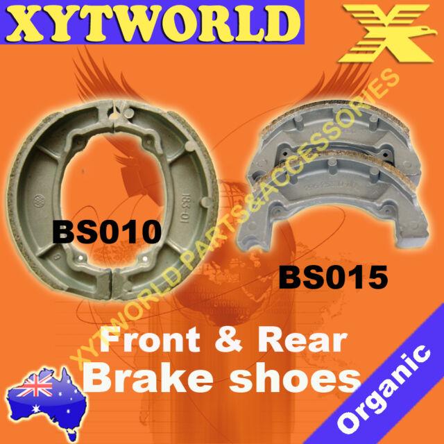 FRONT REAR Brake Shoes YAMAHA TY 175 1977 1978 1979 1980