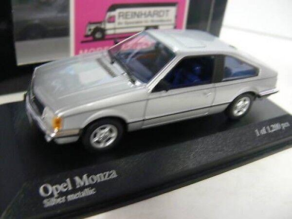 1 43 Minichamps Opel Monza 1980 silbermetallic  | Fairer Preis