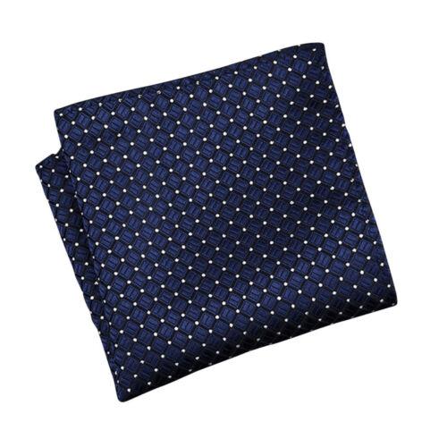 4 Color Men's Vintage Handkerchief 100/% Silk Man Pocket Square Suit Hanky jhy