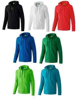 Erima Hooded Jacket Freizeitjacke Trainingsjacke Fitness Jogging Gr. 116 - 164