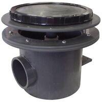 Aquadyne Heavy Duty Rhino Ii 4 Bottom Drains - Durable, Schedule 80 Pvc