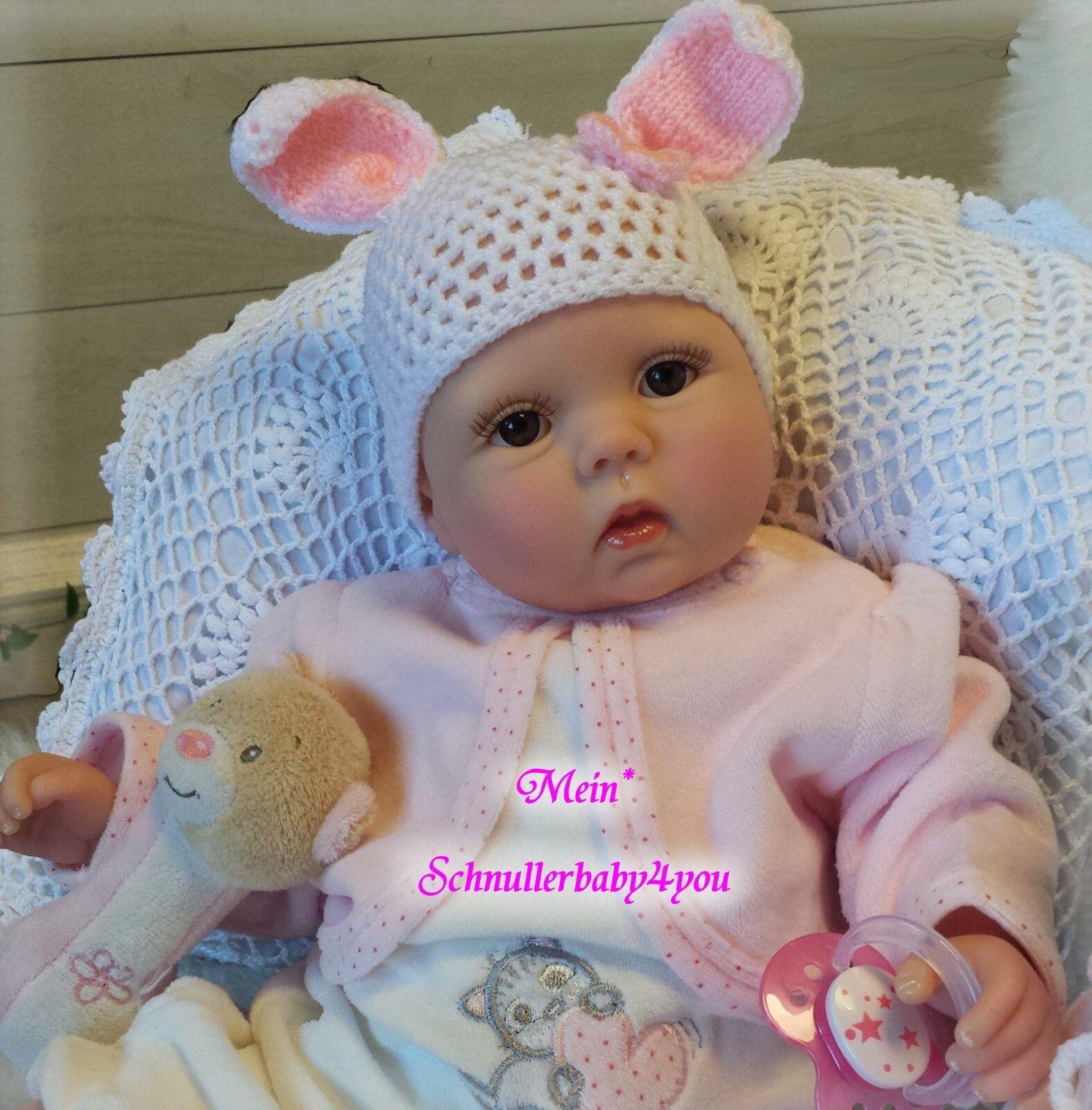 ✨ Reborn Reallife Baby BS U.L Krautter Baby Oster Hase Geschenk Babypuppe✨