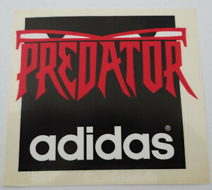 Promotional Stickers Adidas Predator Football Boots Soccer Shoes 1994