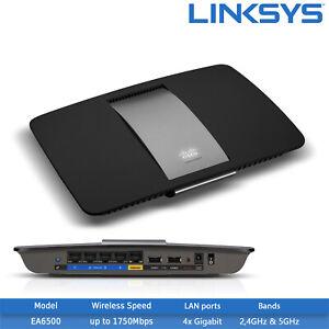 New-Linksys-EA6500-Smart-Wi-Fi-AC1750-Router-2-4GHz-5GHz-2x-USB-2-0