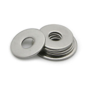 M3 M4 M5 M6 M8 M10 M12 Large Flat Washer A2 Stainless Steel