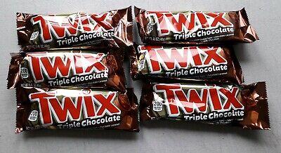 X6 Mars Twix Triple Chocolate 40g American Candy Import Chocolate Cookie Ebay