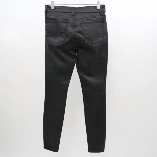 rivestito 2 Jeans Sz Womens Eileen skinny Fisher denim Stretch nero Uqp4zqAS
