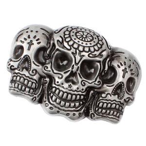 Gothic-Rock-Punk-3D-Skull-Skeleton-Head-Belt-Buckle-Men-s-DIY-Accessory-Gift