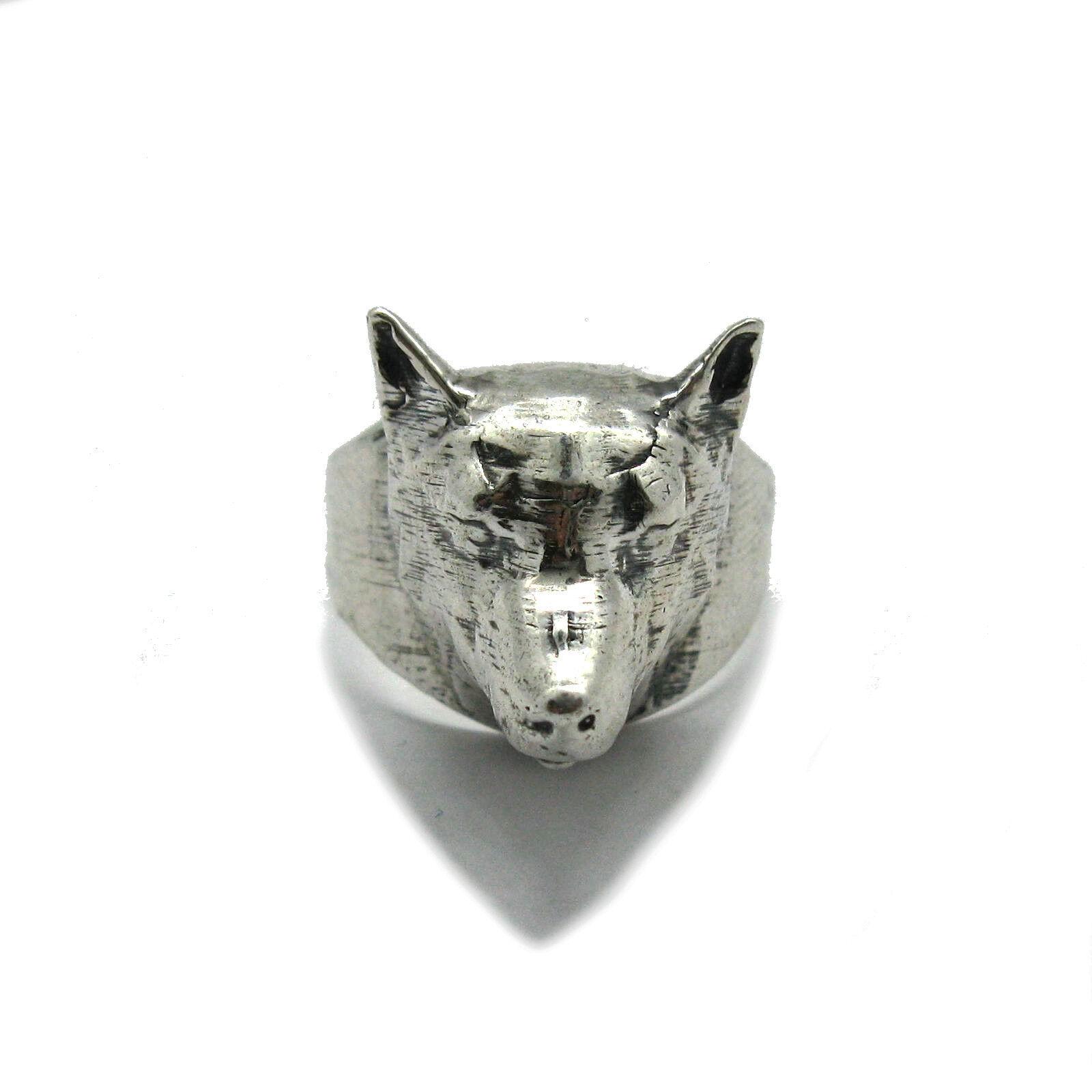 Sterling silver herren ring solide 925 Wolf R001863 EMPRESS