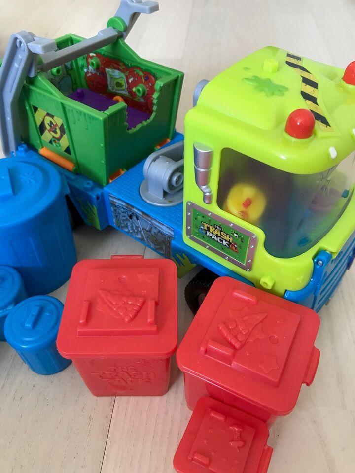 Andet legetøj, Biler og figuerer, Trash Pack