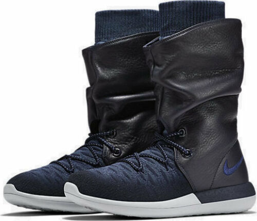Boots Eur Navy Womens Nike Roshe 861708 Size Winter Hi 5 38 Two 400 Flyknit 5 TwCUS