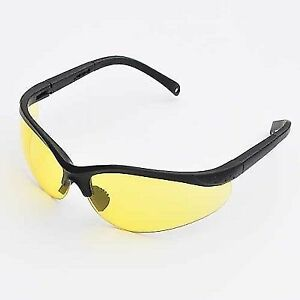 b8115c400f LEDwholesalers UV Protection Adjustable Safety Glasses With Yellow Tint 7821