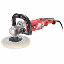 Powerbuilt 7 in. 10A Variable Speed Sander Polisher Detailing, Sanding - 240116