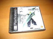 Final Fantasy VII 7 Sony PlayStation 1 1997 Complete Black Label Near Mint