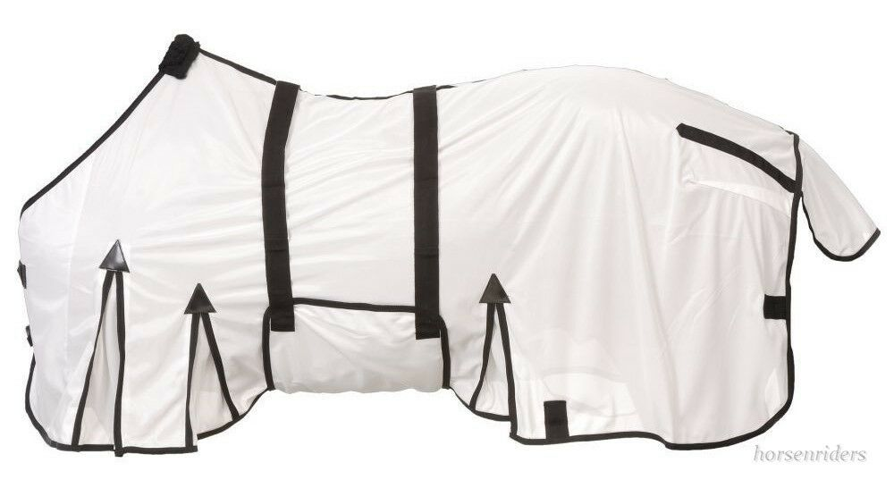 Horse Fly Sheet - Deluxe Contour - Belly Wrap - Sizes 69  up to 84