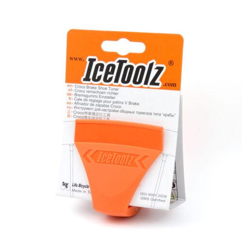 IceToolz 55B1 Croco Brake Shoe Tuner Tool Bike Bicycle Adjustable to Various Rim