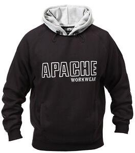 APACHE-Felpa-con-cappuccio-resistente-maglione-top-uomo-SNI