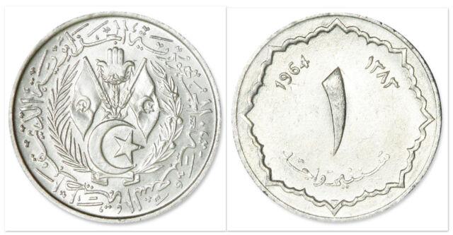 Algeria 1964 1 Centime Uncirculated (KM94)