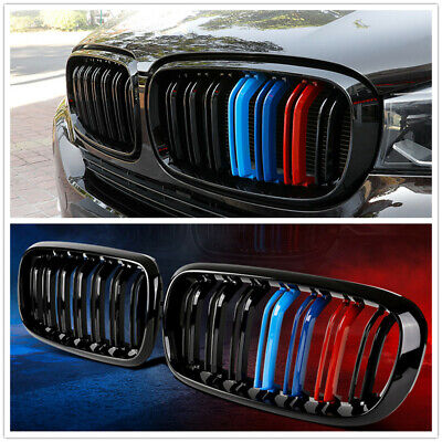 Front Sport Grill Grille For Bmw F15 F16 X5 X6 2014 2017