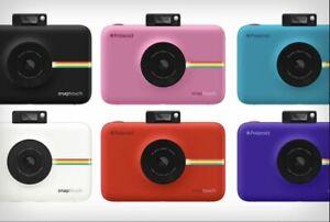 Polaroid-Snap-Touch-Fotocamera-Digitale-Istantanea-con-schermo-LCD-Vari-colori