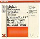 Sibelius: The Symphonies (CD, Jun-1995, 2 Discs, Philips)