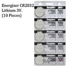 Energizer CR2032 ECR2032 3V Lithium Coin Battery (10 Coin Cells)