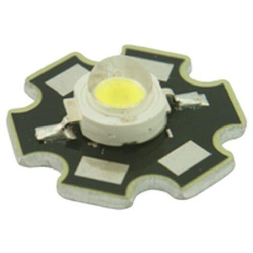 1W Power LED Blanco Star