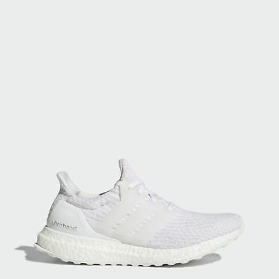Adidas Originals Women/'s Ultra Boost 3.0 in White//Crystal White BA7686 Free Ship