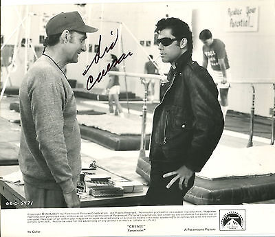"SID CAESAR - Movie Still from ""Grease"" (1977) - SIGNED"