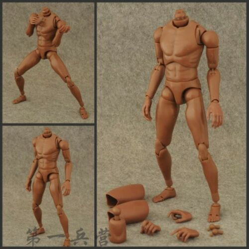 1//6 Black Body Action Figures Hot Toys Similar Improved Ver BW//O Neck