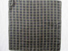 -AUTHENTIQUE Foulard tour de cou GAP  100% soie TBEG  vintage Scarf  43 X 43 cm