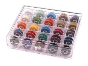 Spulenbox-Naehspulenbox-Transparent-fuer-25-Spulen