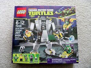 LEGO-TMNT-79105-Baxter-Robot-Rampage-New-amp-Sealed
