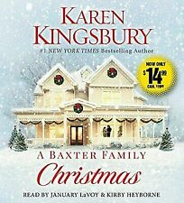 A Baxter Family Christmas by Karen Kingsbury (2017, CD, Unabridged)