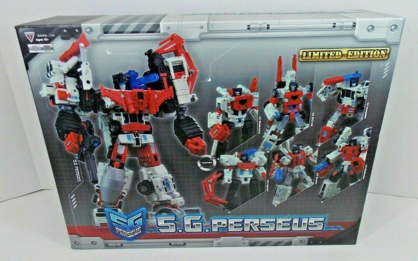 Transformers 3RD de vidrio destrozado Fiesta Devastator S.G. Perseus Tfc Juguetes