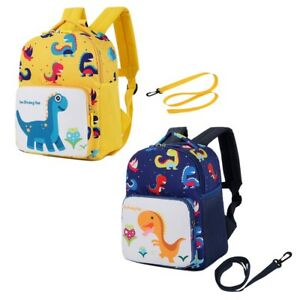 Image is loading Toddler-Boys-Girl-Dinosaur-Backpack-School-Nursery-Bag- f15837ca60a74
