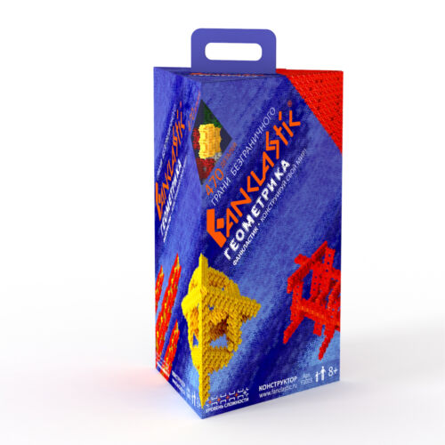 Fanclastic,Geometrics Building Set,New Educational Construction Toy From Russia