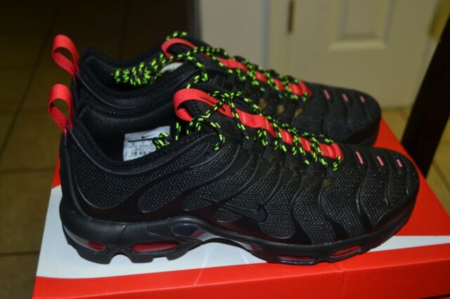 quality design d01ab 43096 Nike Air Max Plus TN Ultra Ar4234-002 Black/university Red/volt Sz 11