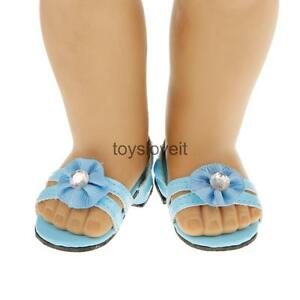 Sandals-Shoe-for-18-034-American-Girl-Our-Generation-Gotz-Dolls-Clothes-Accessories