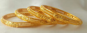 Indian-Traditional-Bangles-Jewellery-Royal-Set-Gold-Plated-Set-of-4-size-2-4