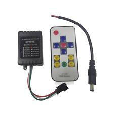 SP101E Mini RF Wireless Controller Remote for WS2811 WS2812B LED Strip DC12V
