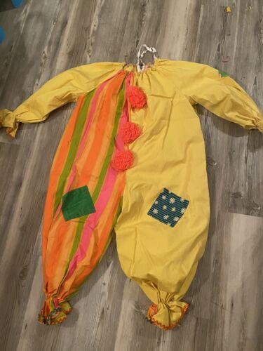 60s Vintage Adult Professional CLOWN SUIT Costume