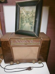 POSTE A LAMPES RADIO T.S.F PHILIPS TYPE BX 400 U CIRCA 1950-55 SG8cYbBA-09090444-226139696