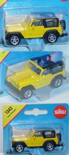 ca Siku Super 1342 Jeep Wrangler TJ 4.0 1:55 OVP