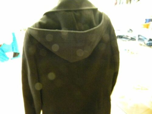 Noir 42 Superbe K Moderne Propre Taille C15v3 Concept Capuche Caban Femme YYq5wfr